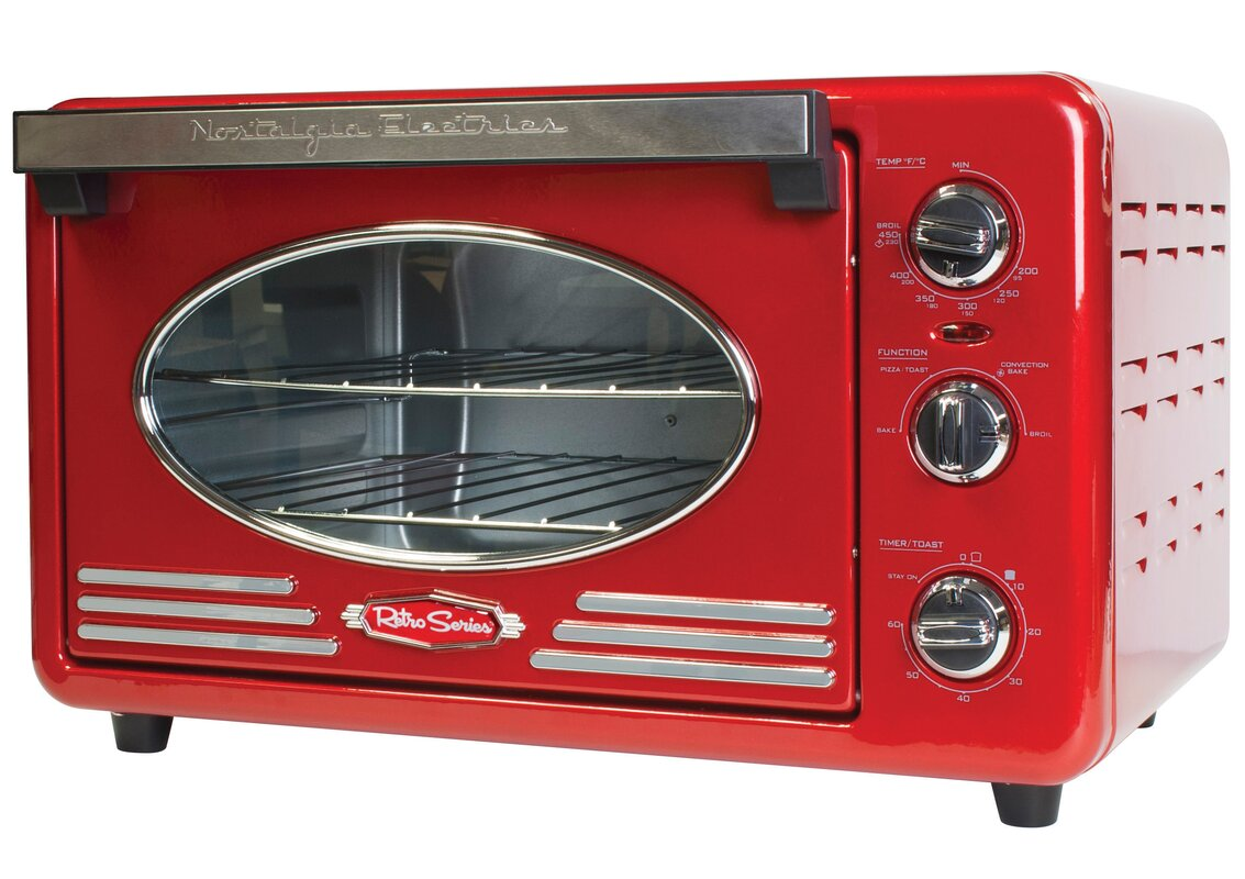 Nostalgia Electrics Retro Series 0 78 Cu Ft Convection