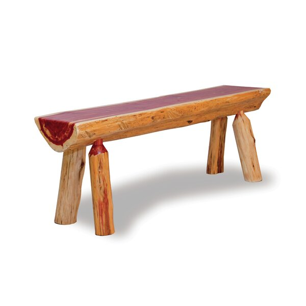Sherwin Wood Bench by Millwood Pines Millwood Pines