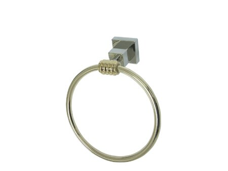 Fortress Wall Mounted Towel Ring by Elements of Design