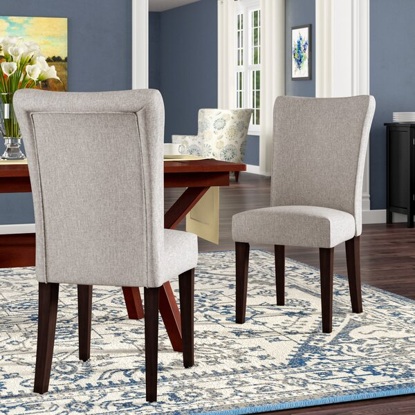 Where buy  Lancaster Upholstered Dining Chair (Set of 2) by Three Posts