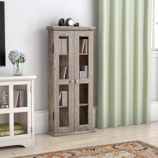 Double Doors Wood Multimedia Cabinet by Red Barrel