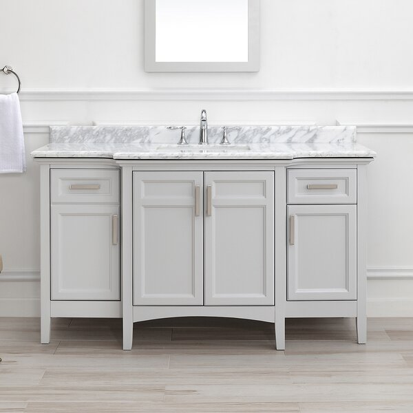 Benedetto 60 Double Bathroom Vanity Set by Highland Dunes