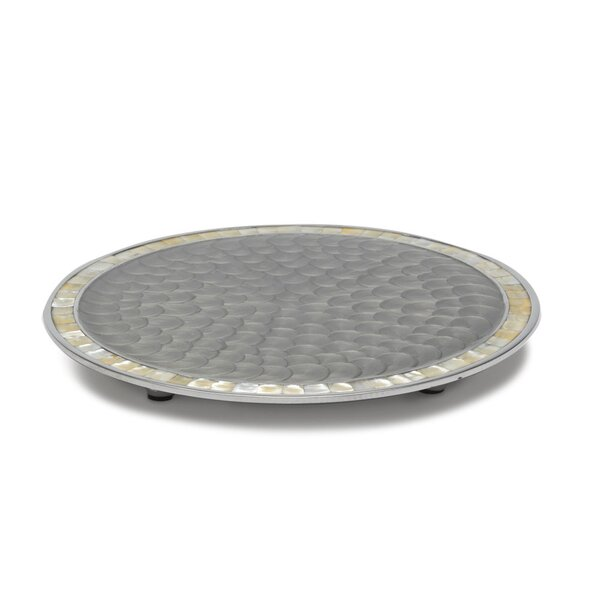 Classic 15 Round Cheese Serving Tray by Julia Knight Inc