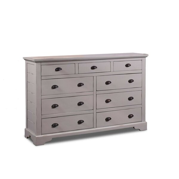 Ragnar 9 Drawer Double Dresser by August Grove