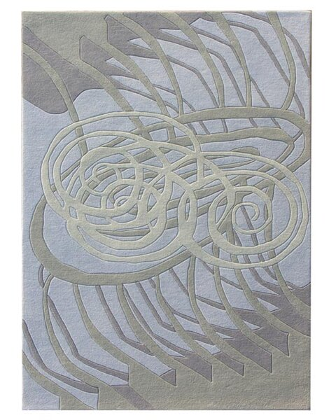 Nolita Silver/Blue Area Rug by Dynamic Rugs