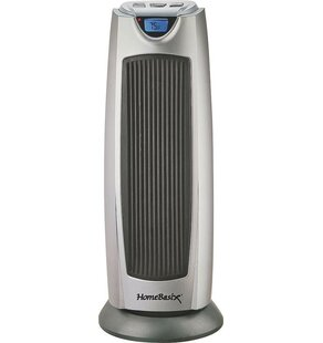 1,500 Watt Digital Oscillating Fan Heater by Homebasix
