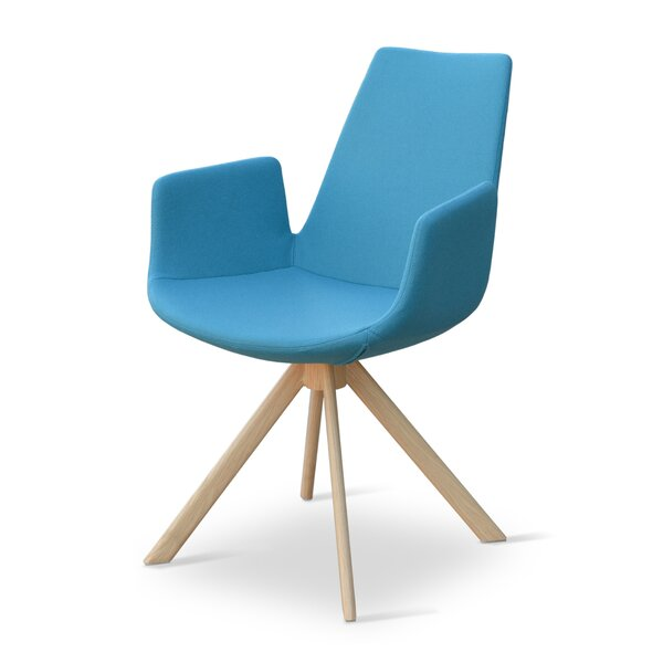 Eiffel Sword Swivel Armchair by sohoConcept