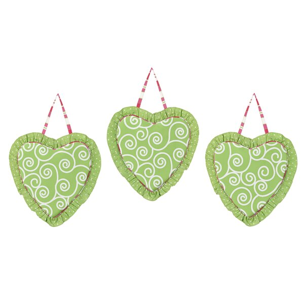 3 Piece Olivia Wall Hanging Set by Sweet Jojo Designs