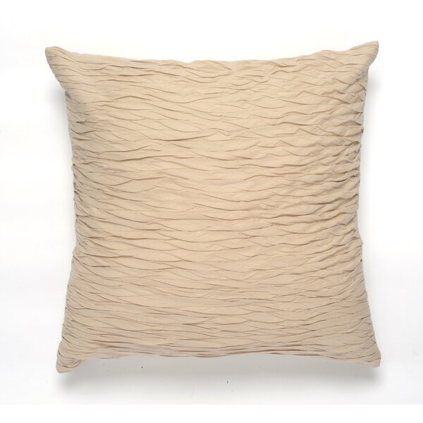 Textured Surface Cotton Pillow Cover by Darzzi