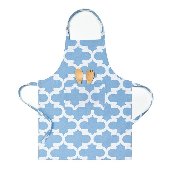 Trellis Chef Apron by Three Posts