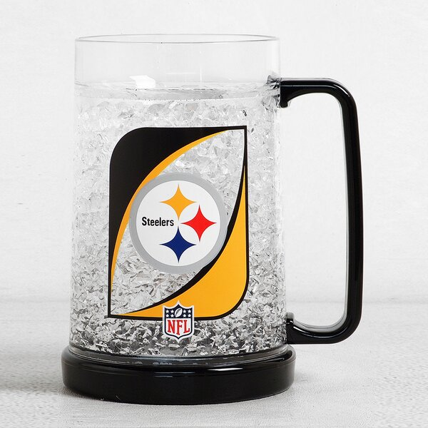NFL Beer Glass 38 oz. Crystal by DuckHouse