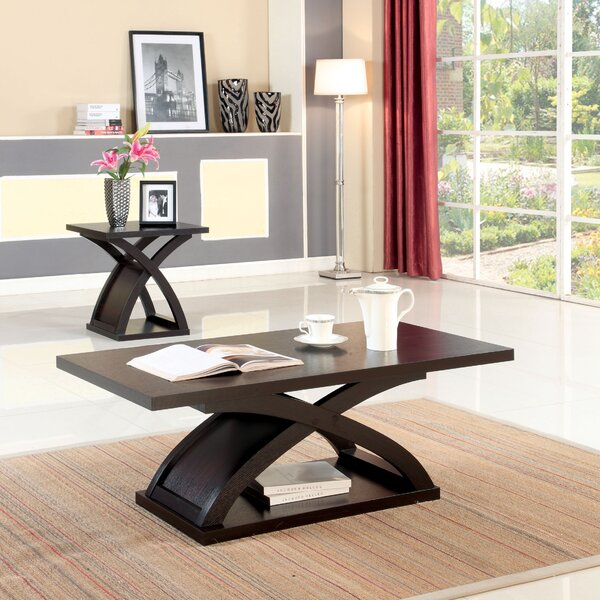 Annica 2 Piece Coffee Table Set (Set of 2) by Wade Logan