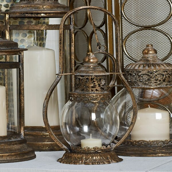 Traditional Ornate Lantern by Astoria Grand