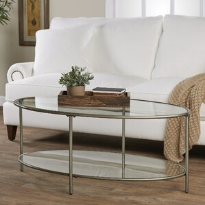 Oval Coffee Table find the best oval coffee tables | wayfair