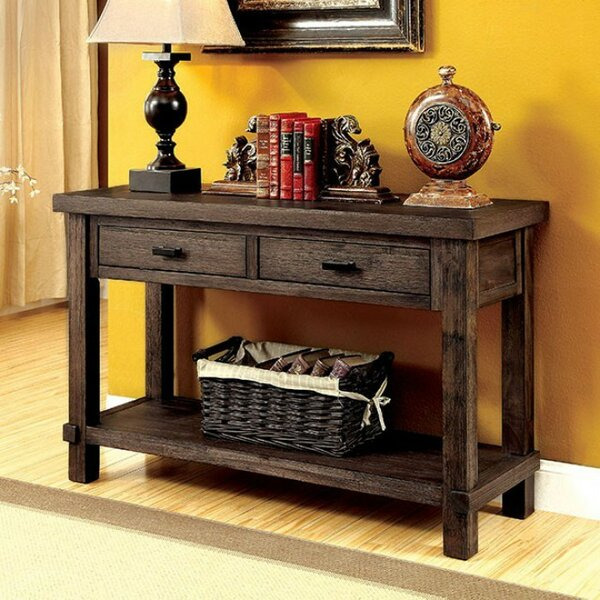 Cammi Wooden Console Table by Gracie Oaks