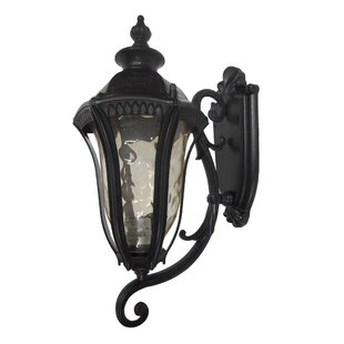 Online Reviews Straford 1-Light Outdoor Sconce By Yosemite Home Decor
