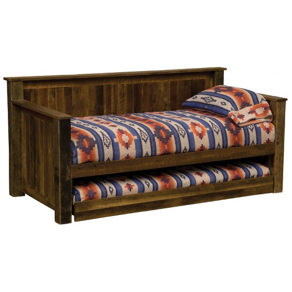 Discount Dondale Barnwood Twin Daybed