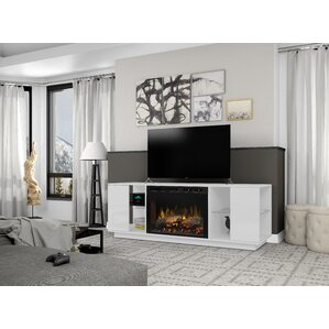 """Television Firebox 64.125"""" TV Stand with Electric Fireplace"""