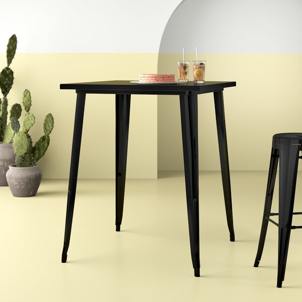 Seigler Metal Bar Table by Hashtag Home Hashtag Home