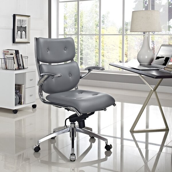 Push Mid-Back Desk Chair by Modway