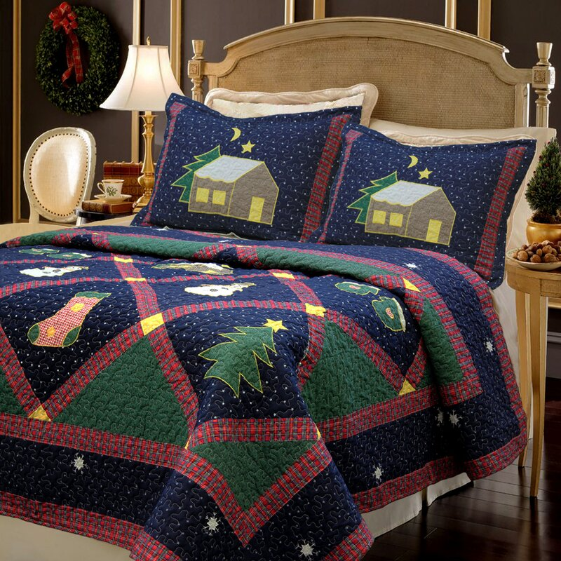 Cozy Line Home Fashion Christmas Night Quilt Set Amp Reviews
