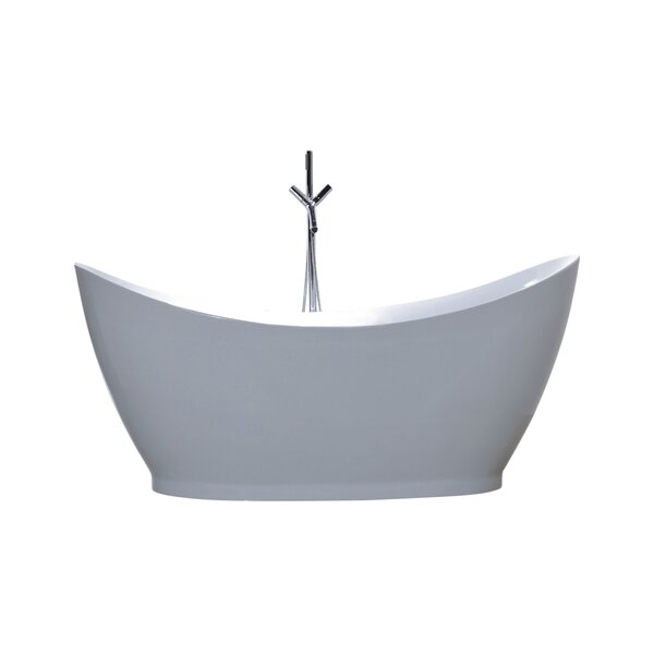 67.7 x 31.5 Soaking Bathtub by Legion Furniture