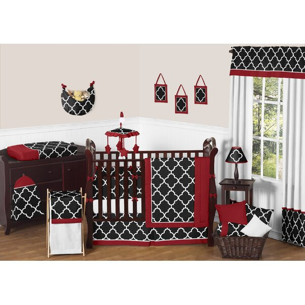 Trellis 9 Piece Crib Bedding Set by Sweet Jojo Designs