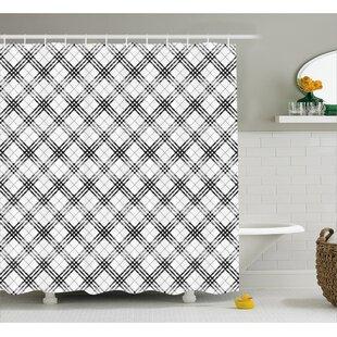 Comparison Burdette Minimalist Fashion Shower Curtain ByEbern Designs