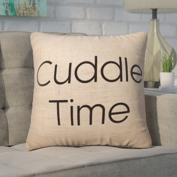 Pettis Cuddle Time Throw Pillow by Wrought Studio