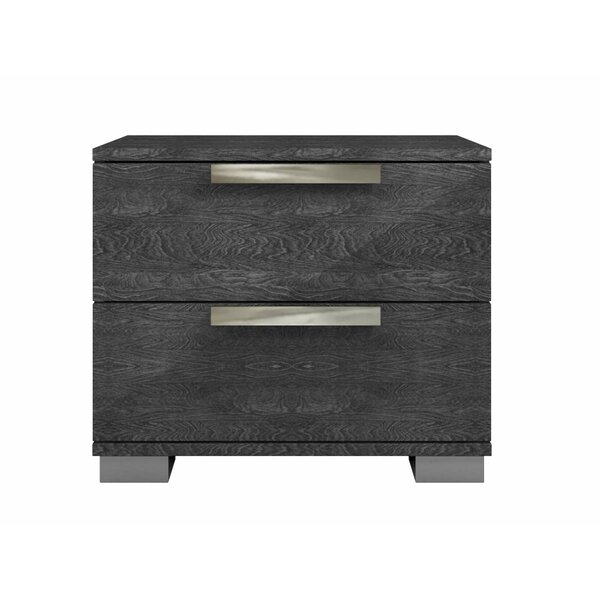 Archbold 2 Drawer Nightstand by Ebern Designs
