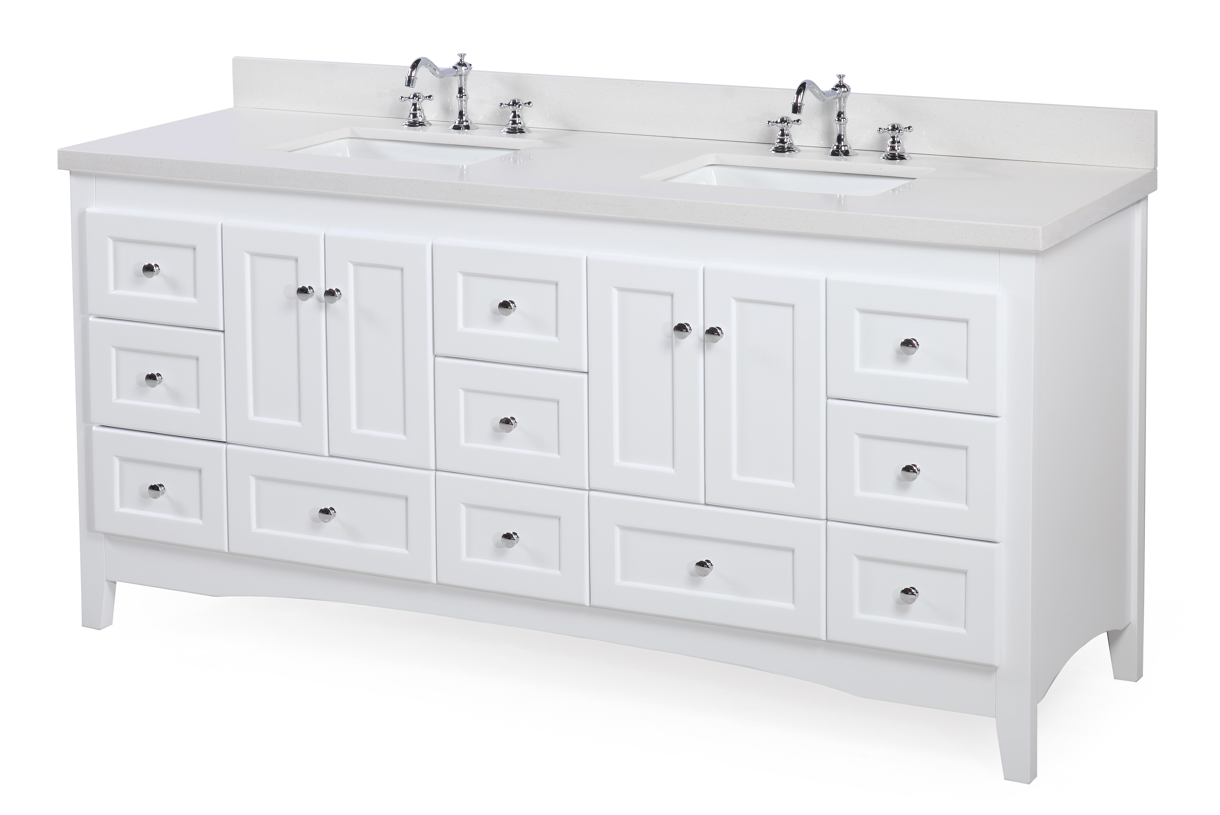 w set kitchen jazz drawers cabinet white product front drawer base