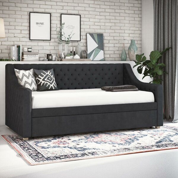 Nolita Upholstered Daybed with Trundle by CosmoLiv