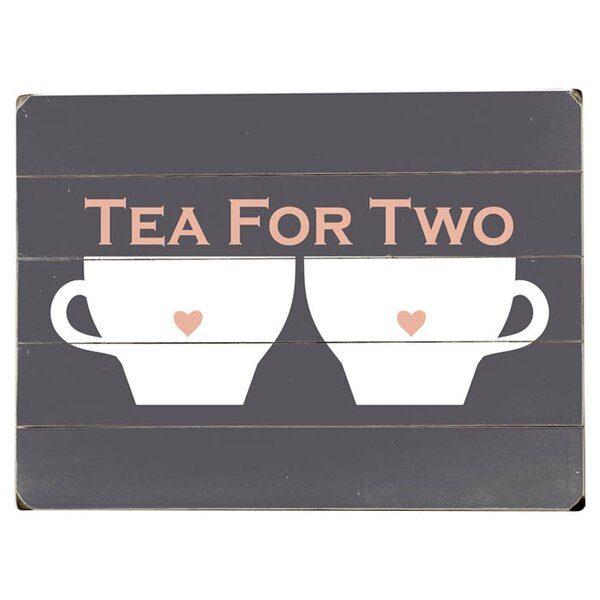 Tea for Two Vintage Advertisement Multi-Piece Image on Wood by Artehouse LLC