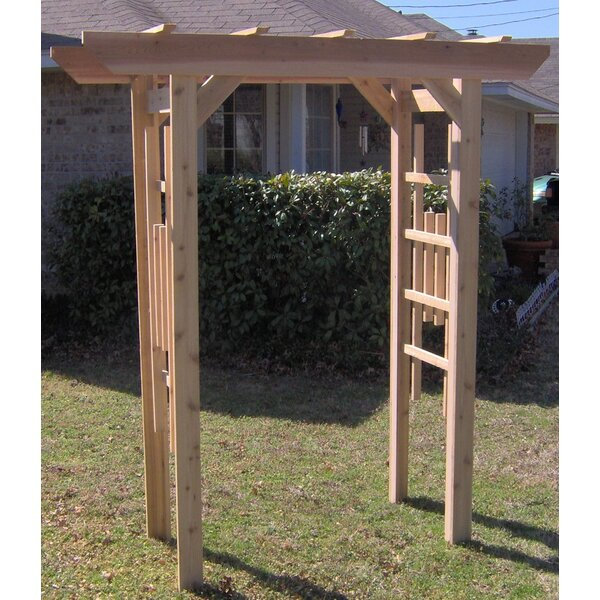 Traditional Cedar Wood Arbor by Threeman Products