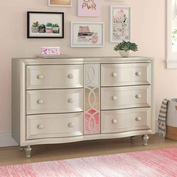 Skeffingt 6 Double Dresser by Grovelane Teen