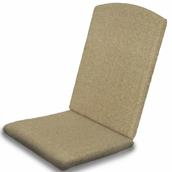 Indoor/Outdoor Sunbrella Dining Chair Cushion by POLYWOOD®