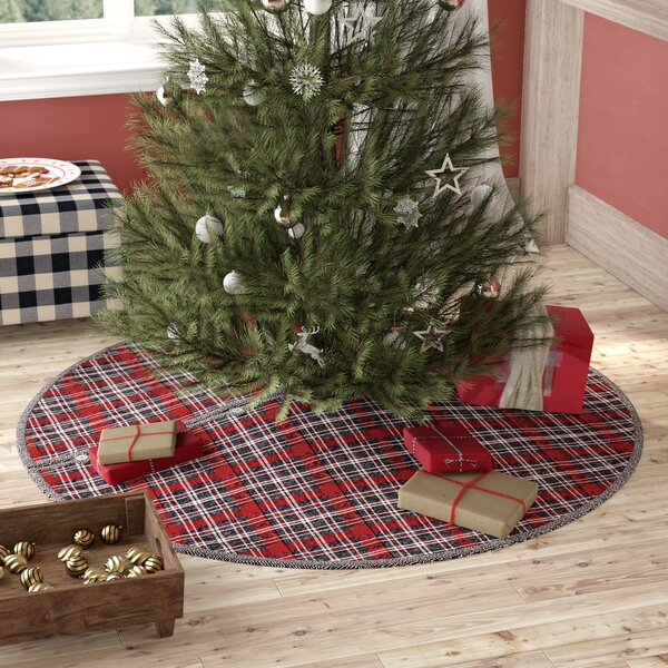 Chamblee Plaid Tree Skirt by August Grove