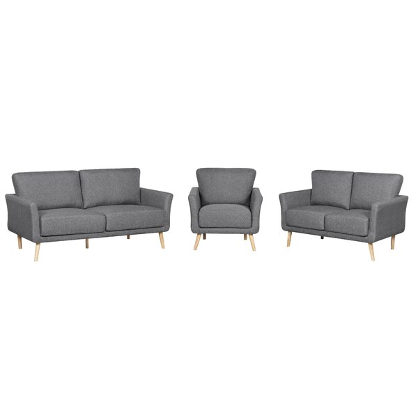 Sanda 3 Piece Living Room Set by Latitude Run