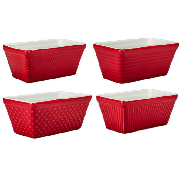 Mini Loaf Pan (Set of 4) by BIA Cordon Bleu