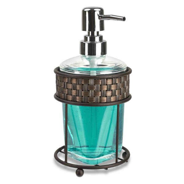 Bathroom Liquid Soap Dispenser by Home Basics
