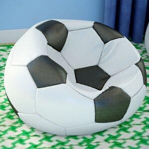Kierra Soccer Bean Bag Chair by Viv + ..