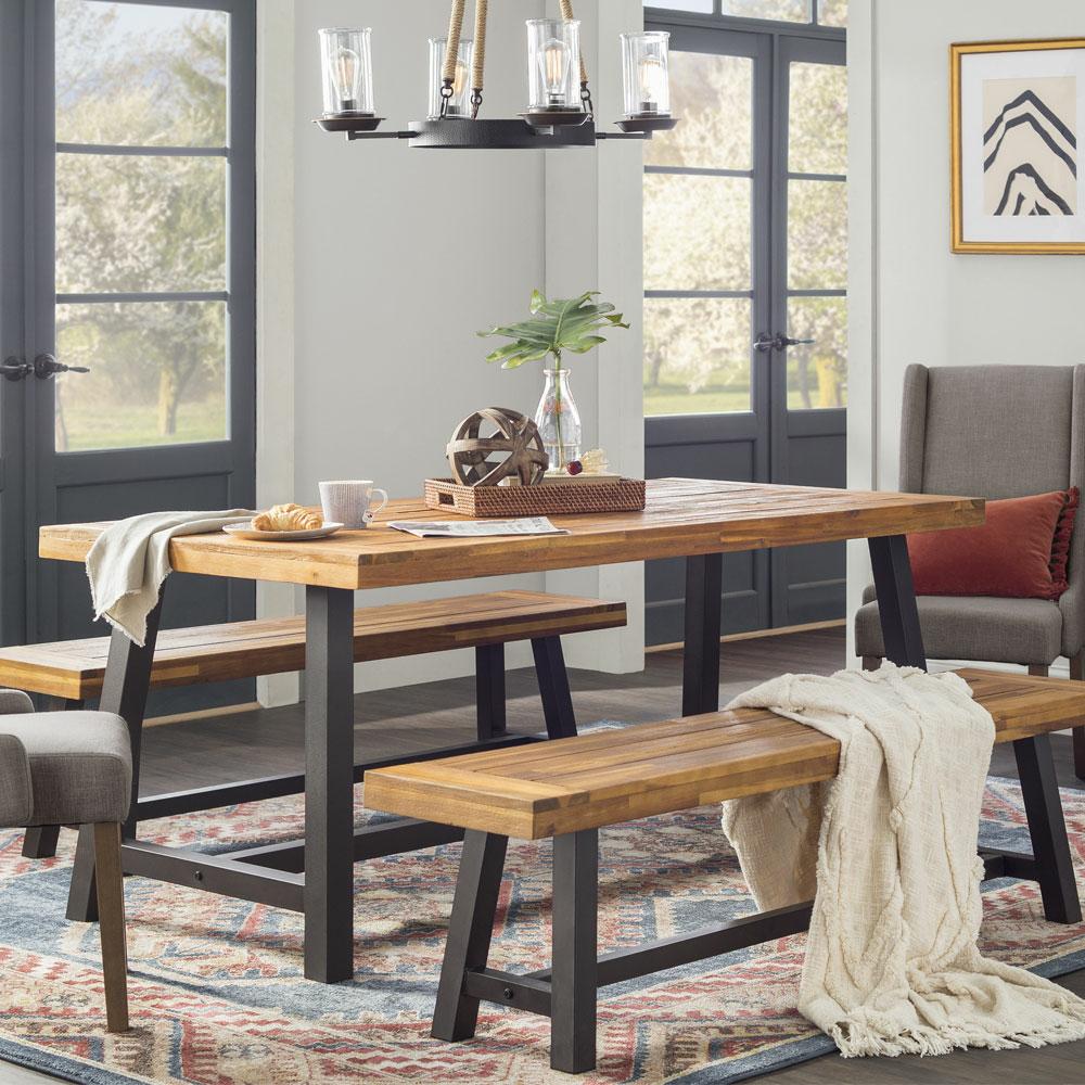 f515f849d5d Industrial Kitchen   Dining Room Furniture