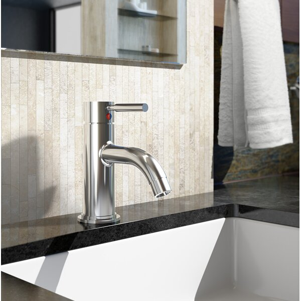 Sereno Single Hole Bathroom Faucet with Drain Assembly by Symmons