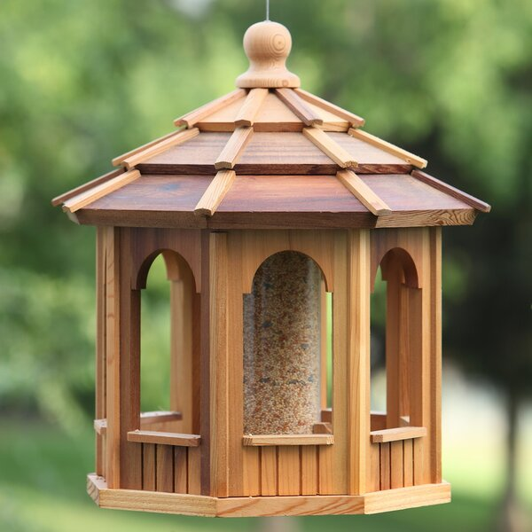 Octagonal Hopper Bird Feeder by All Things Cedar