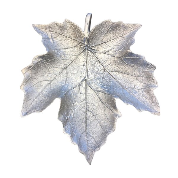 Binghampton Resin Maple Leaf Decorative Plate by Astoria Grand