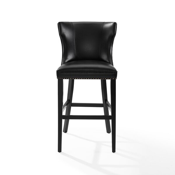 Dace Hardwood Frame Bar Stool by Darby Home Co