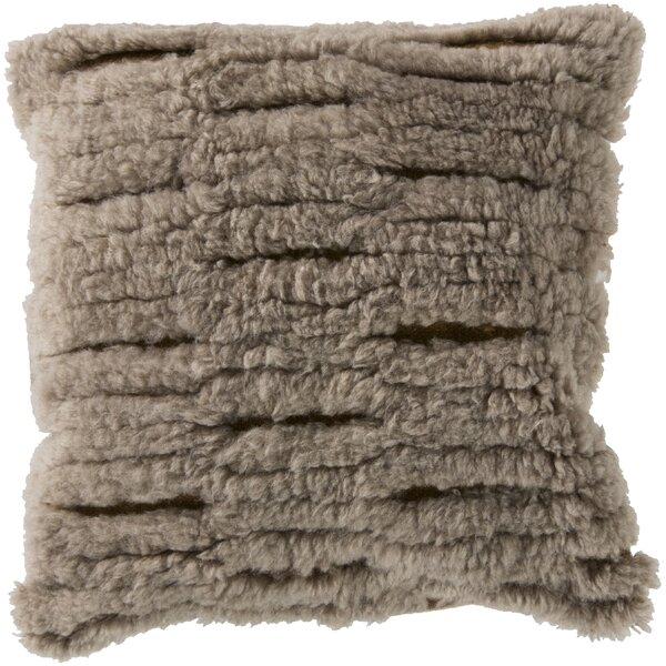 Hensley Cut Out Wool Throw Pillow by Union Rustic