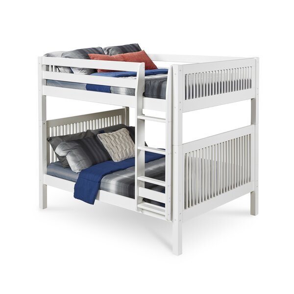 Rabon Full Over Full Bunk Bed by Harriet Bee