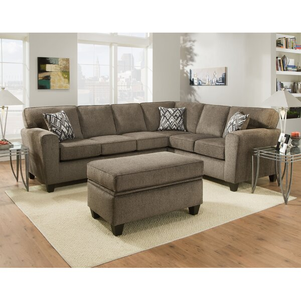 Loria 2 Piece Living Room Sectional with Ottoman by Darby Home Co