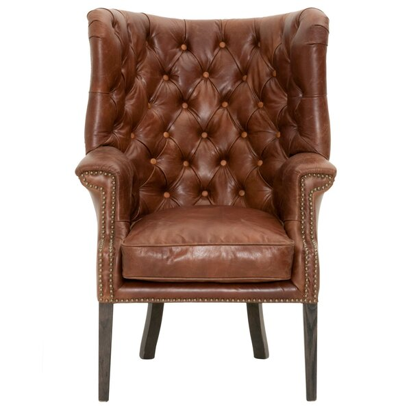 Fonteyne Wingback Chair by 17 Stories